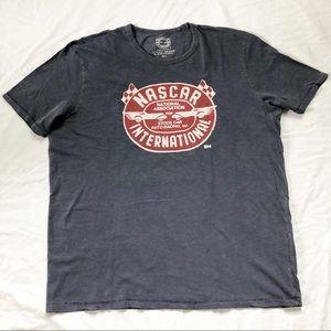 Vintage Lucky Brand NASCAR T Shirt Sz XXL. Unisex